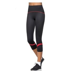 Spanx active shaping compression crop color pop